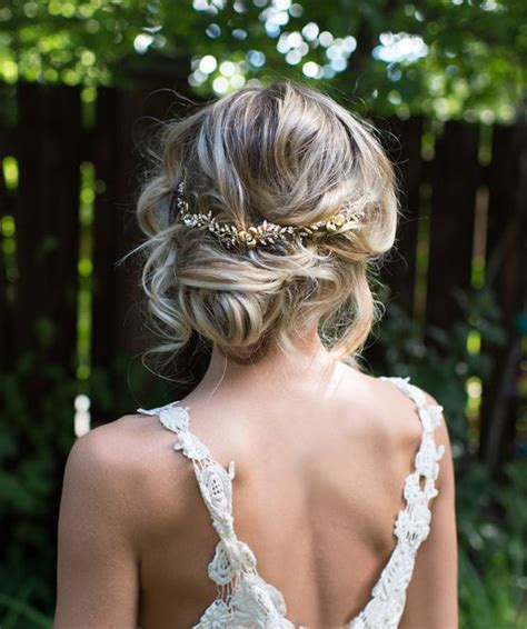Vintage Wedding Hairstyles With A Headband by Picture Of Hair Updo With A Boho Headband