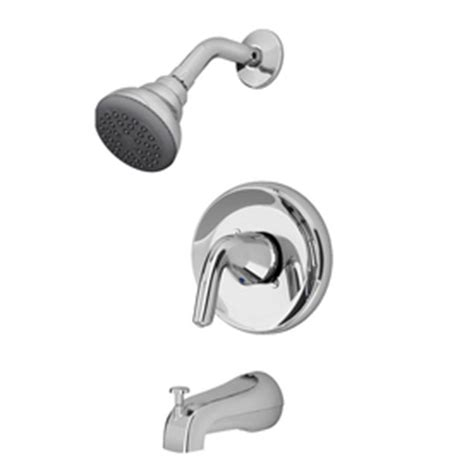 american standard covina chrome 1 handle watersense bathub