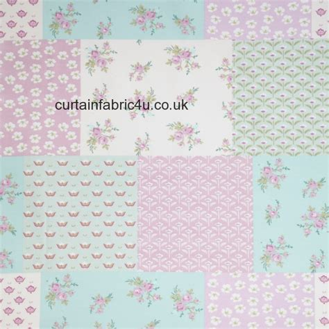 Patchwork Material Uk - pastiche floral patchwork by iliv swatch box curtain