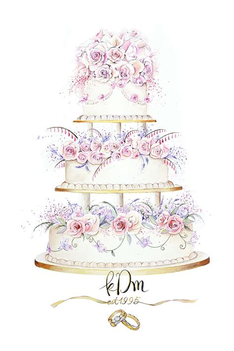 Wedding Cake Clip by Contemporary Wedding Clipart Clipground