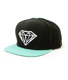 Snapback Hat Supply Co Brilliant Black Blue Snapback Hat