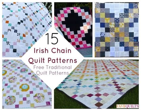 Chain Quilt Pattern Free by Chain Quilt Patterns Free Traditional Quilt