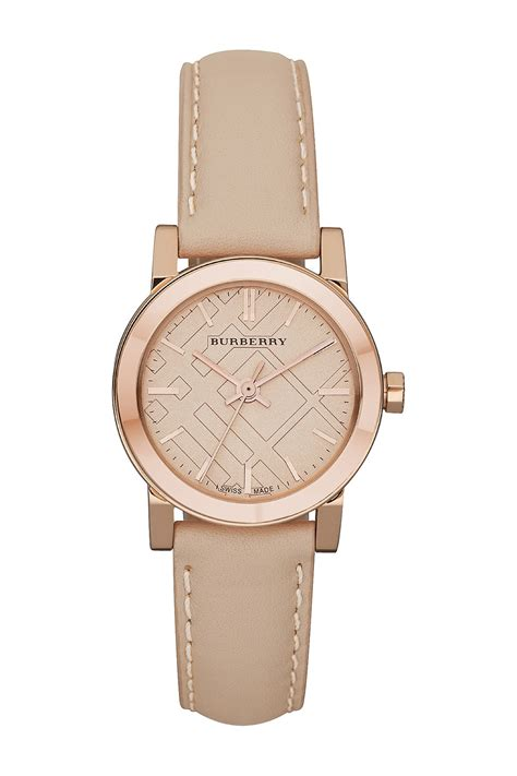 burberry s the city gold tone stainless steel