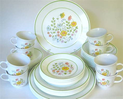 corelle pattern finder 48 pc corelle quot meadow quot dinnerware service for eight