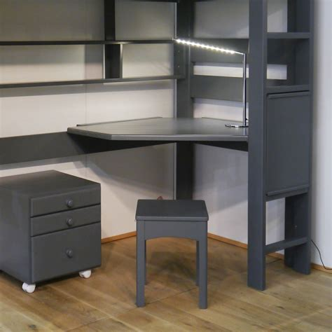 Desk For High Sleeper Bed Mathy By Bols Desk And Corner Gray Corner Desk