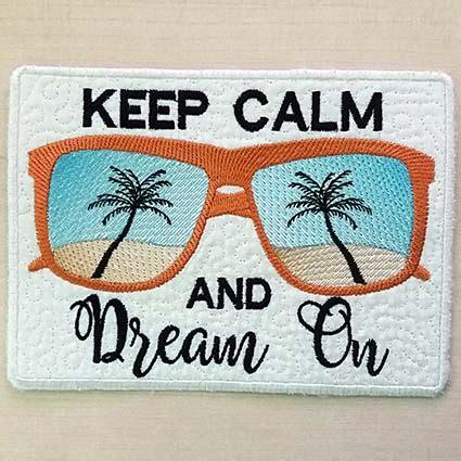 keep calm rug keep calm mug rug embroidery design