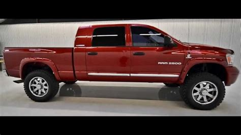 dodge ram  mega cab diesel lifted truck  sale