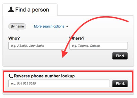 Search Mobile Number By Name And Address Lookup A Phone Number Using Canada411 Best Free
