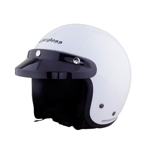 Helm Cargloss 1 jual cargloss cf helm half army sp whity white