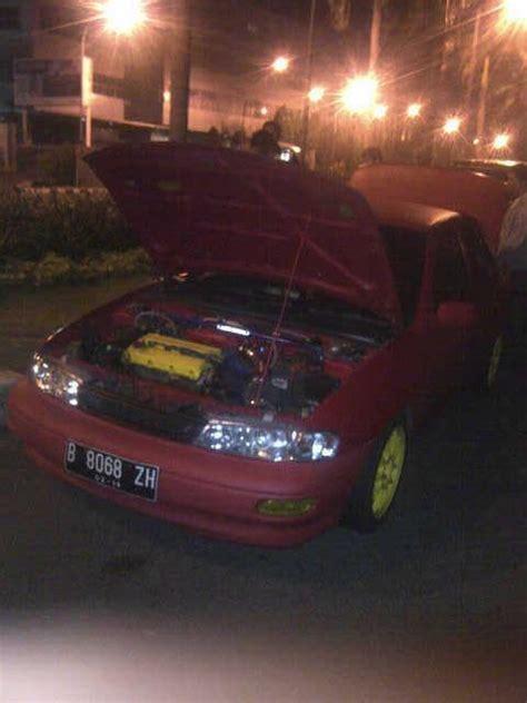 Mobil Polisi Mvp Merah balapan liar di senayan sedan merah ini ditilang polisi