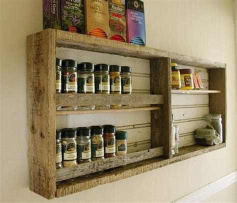 etagere selber bauen kitchen shelves made from wooden pallet recycled things