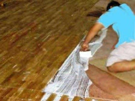 Karpet Lantai Bali tata cara memasang lantai kayu bali parket