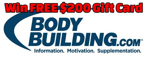 Bodybuilding Com Gift Card - bodybuilding gift card code lamoureph blog