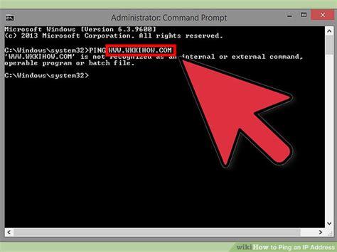ways  ping  ip address wikihow