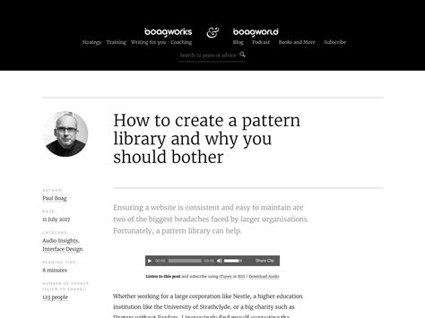 why pattern library popular design news of the week july 10 2017 july 16
