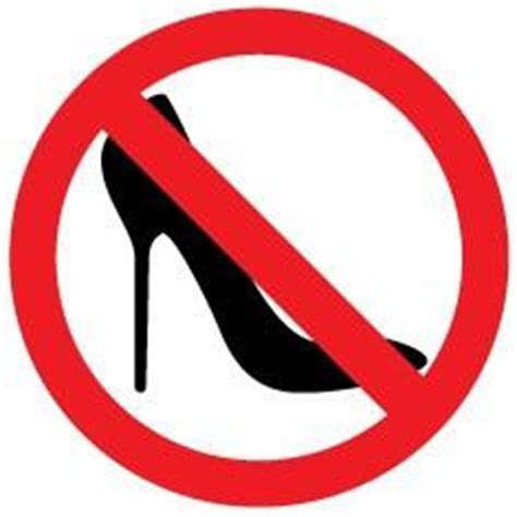 no high heels – instickate