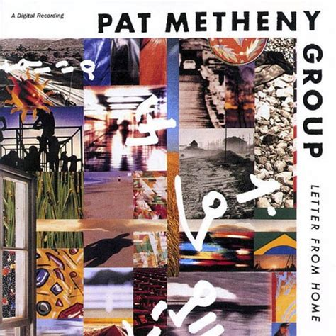 Letter Album Pat Metheny Pat Metheny Letter From Home Reviews