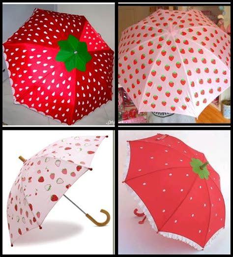 Payung Anak Corak Buah Strawberry berbagai macam payung cantik unik dan lucu himeumbrella s