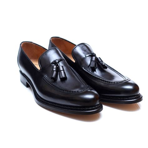 black tassel loafers francesco benigno black tassel loafer francesco benigno