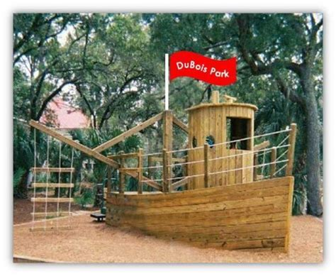 wooden boat playground plans pirate ship playground plans playground pinterest