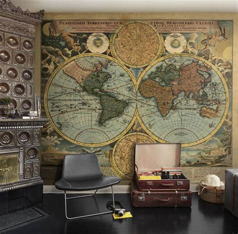 world wall mural world map wallpaper mural
