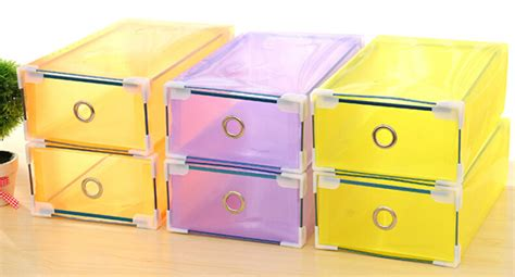foldable colorful plastic pp storage drawer container