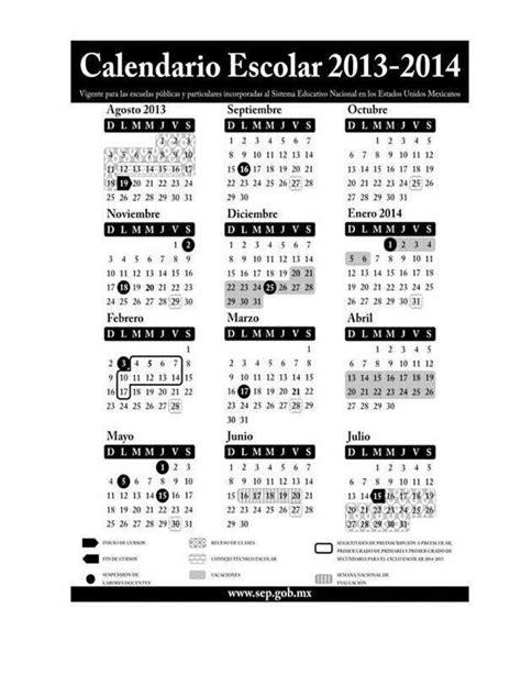 calendario del 2014 calendario escolar sep 2013 2014 171 el blog del maestro