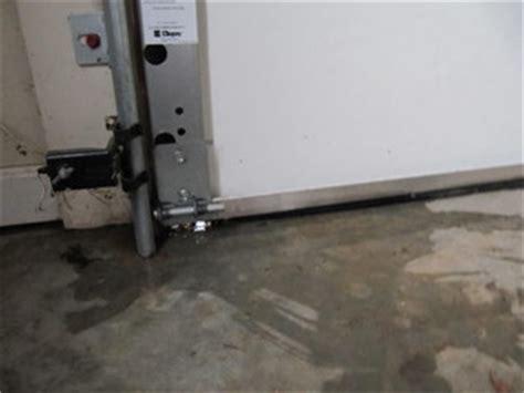 Garage Door Leaks How To Prevent Water From Leaking In A Car Garage Door