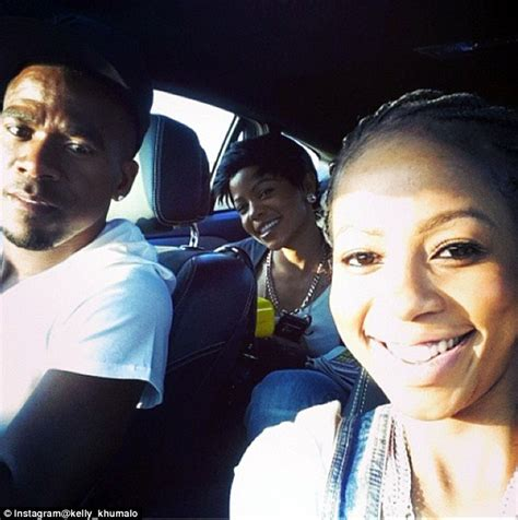 kelly khumalo original hairstyles girlfriend kelly khumalo barred from bafana captain s