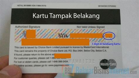 bca mastercard debit dua cara menarik uang saldo balance payoneer anda