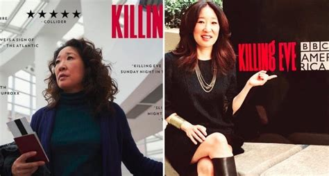 asian actress nominated for emmy sandra oh is the first asian to be nominated for lead