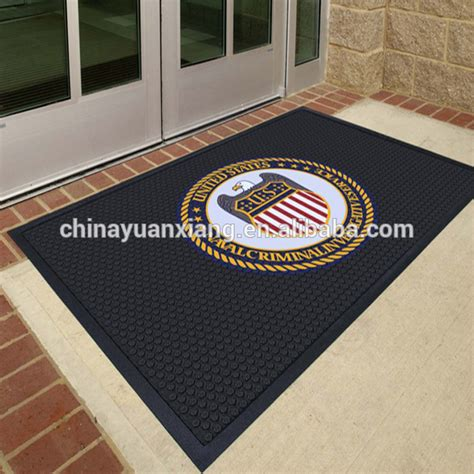 Custom Mat Printing by Logo Printed Floor Mat Rubber Custom Buy Floor Mat