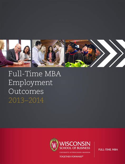 Wisconsin Mba Student Profiles by Mba Employment Outcomes 2014 By Of Wisconsin