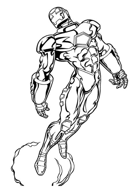 marvel heroes coloring pages best image coloring