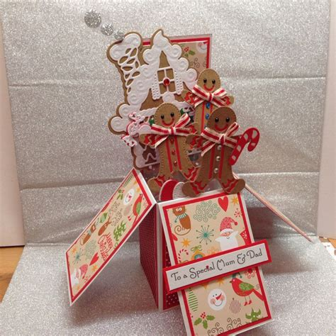 gingerbread house pop up card template gingerbread house pop up card using tonic gingerbread