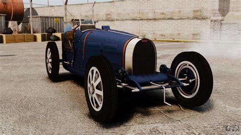 Car Types In Gta by Bugatti Type 51 For Gta 4