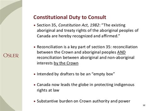 section 35 of the canadian constitution capp speaker series tom isaac shawn denstedt osler
