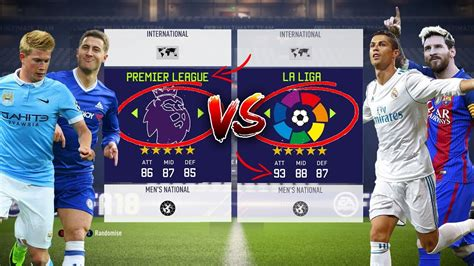 epl xi vs la liga xi premier league xi vs la liga xi which league is better