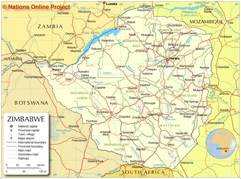 printable map of zimbabwe in africa hefty new zimbabwe traffic fines announced transport