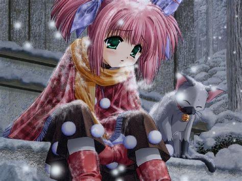 imagenes de invierno triste fonditos triste invierno anime otros manga