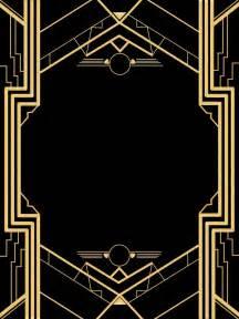 Black And Gold Wedding Decorations Die Besten 25 Gatsby Party Ideen Nur Auf Pinterest