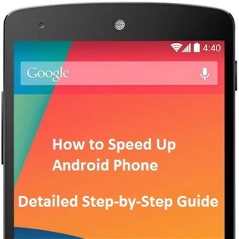 speed up android phone how to speed up android phone in few steps techloverhd