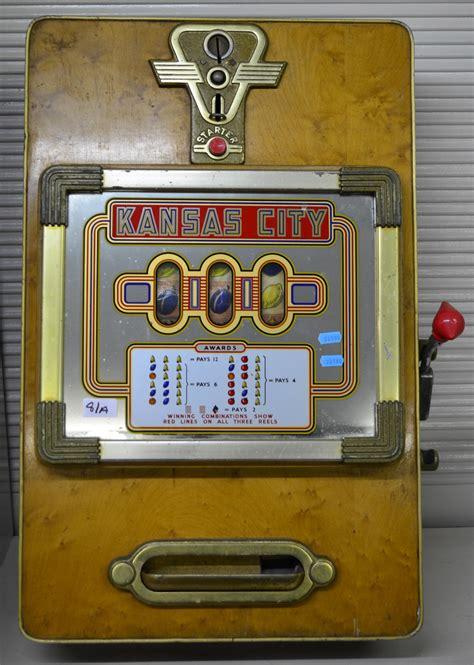 penny slot machines gunterwolff penny slot machine beromat style circa 1955