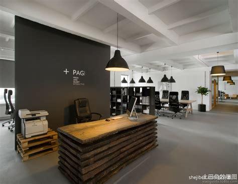 concept bureau 公司前台背景墙效果图大全图片 土巴兔装修效果图