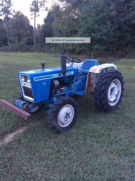 ford 1700 tractor ford 1700 tractor specifications