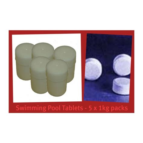 Kaporit Tablet Besar 1kg 5 Tablet tablet chlorine 90 1kg x5pcs 306tc90 hardware store in malaysia cthardware