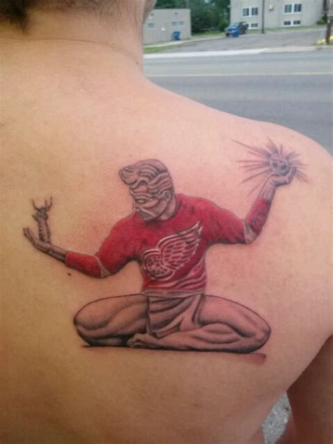 detroit red wings tattoo 17 best images about detroit wings tattoos on