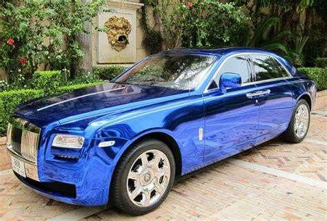 roll royce chrome 306 rr silver ghost blue chrome rolls royce royce and