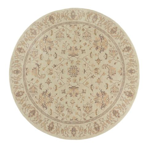 8 ft area rugs home decorators collection jackson beige 8 ft x 8 ft