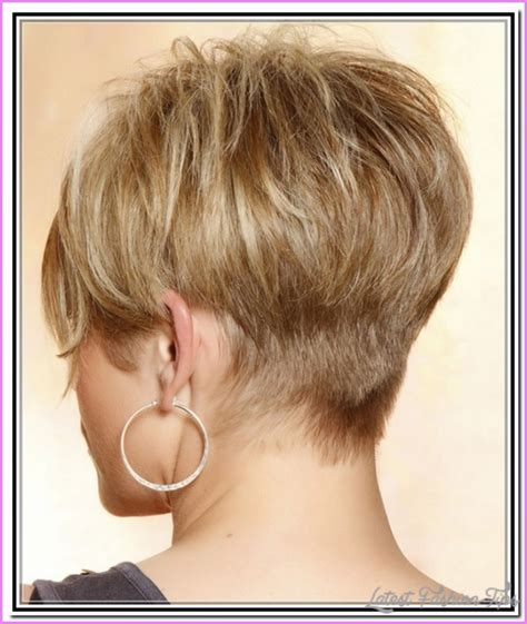 front and back view of hairstyles haircut styles for short hair back and front